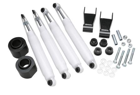 "Fat Bob's Garage, Part # FBXJ3-8KS-2SR, Jeep Cherokee 3"" Front 1.5""-2"" Rear w/Performance 8000 Series Shocks 1984-2001"