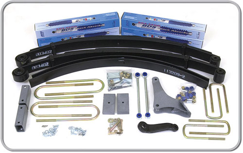 "Fat Bob's Garage, BDS Part #300H, Ford Excursion 4"" Front 3"" Rear Suspension System 4WD 2000-2005"