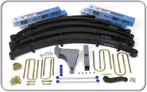 "Fat Bob's Garage, BDS Part #302H, Ford Excursion 6"" Front 5"" Rear Suspension System 4WD 2000-2005"