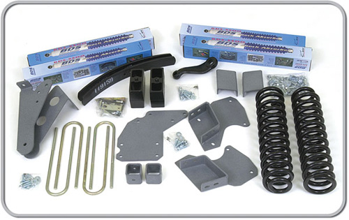 "Fat Bob's Garage, BDS Part #516H, Ford Ranger 4"" Front 3.5"" Rear Suspension System 1983-1997"