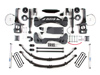 "Fat Bob's Garage, BDS Part #568H, Ford F150 8"" Front 5.5"" Rear Suspension System 4WD 2004-2008"
