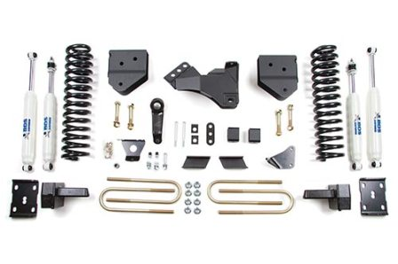 "Fat Bob's Garage, BDS Part #588H, Ford F250/F350 4"" Suspension Lift Kit 4WD 2011-2016"