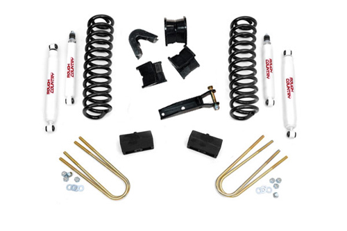 "Fat Bob's Garage, Rough Country Part #445-70-76H, Ford F100/F150 4"" Suspension Lift Kit 4WD 1970-1976"