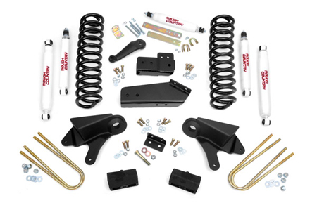 "Fat Bob's Garage, Rough Country Part #465B.20, Ford F-150/Bronco 4"" Suspension Lift Kit 4WD 1980-1996"