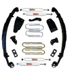 "Fat Bob's Garage, Rough Country Part #490-80-86.20, Ford F250/F350 4"" Suspension Lift Kit 4WD 1980-1998"