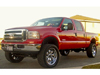 "Ford F250/F350 Super Duty  4"" Front 3"" Rear 4WD 2005-2007 Mini-Thumbnail"