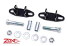 Fat Bob's Garage, Zone Offroad Part #J5022, Jeep Cherokee XJ Bar Pin Eliminators 1984-2001