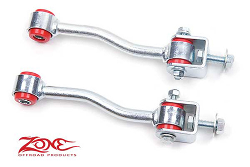 "Fat Bob's Garage, Zone Offroad Part #J5300, Jeep Grand Cherokee ZJ Front Solid Sway Bar Links 3"" Lift 1993-1998"