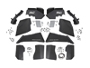 Jeep Wrangler JK Front & Rear Inner Fenders Set 2007-2018
