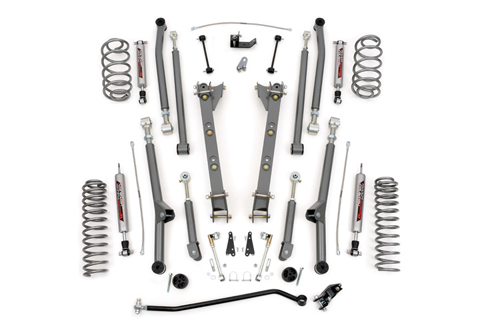 "Jeep TJ Wrangler 2.5"" Long Arm Suspension Lift 1997-2006"