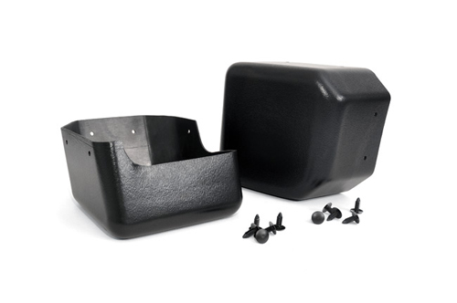 Fat Bob's Garage, Rough Country Part #1047, Jeep JK Bumper Caps 2007-2015
