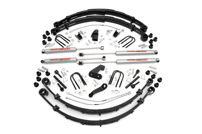 "Fat Bob's Garage, Rough Country Part #622N2, Jeep Wrangler YJ 6"" Suspension Lift Kit 1987-1996"