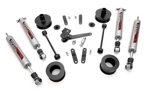 "Fat Bob's Garage, Rough Country Part #637, Jeep Wrangler JK 2.5"" Premium Suspension Lift Kit 2007-2016"
