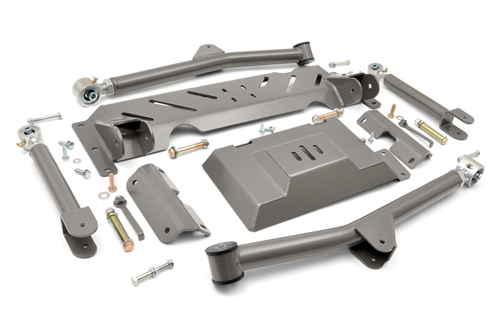 Fat Bob's Garage, Rough Country Part #689U, Jeep Cherokee XJ Long Arm Upgrade Kit 1984-2001
