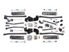 "Fat Bob's Garage, BDS Part #1409H, Jeep JK Wrangler 6.5"" Long Arm Suspension Lift 4-Door 2012-2016 4WD"