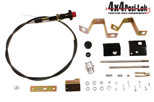 Fat Bob's Garage, Zone Offroad Part #PSL600, Chevrolet/GMC 6 Lug Axle Actuator 1988-1998