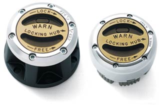 Fat Bob's Garage, Warn Part #60459, Premium Manual Hubs for Toyota Tacoma (w/ factory man. hubs)