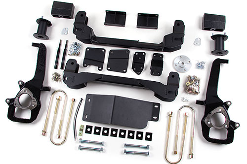 "Fat Bob's Garage, Zone Offroad Part #D4, Dodge Ram 1500 4WD 6""IFS Suspension System 2006-2008"