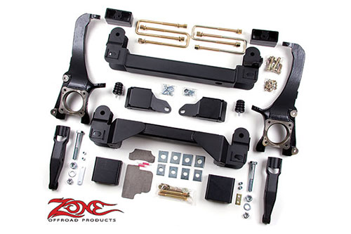 "Fat Bob's Garage, Zone Offroad Part #T1, Toyota Tundra 5"" IFS Suspension System 2007-2015"