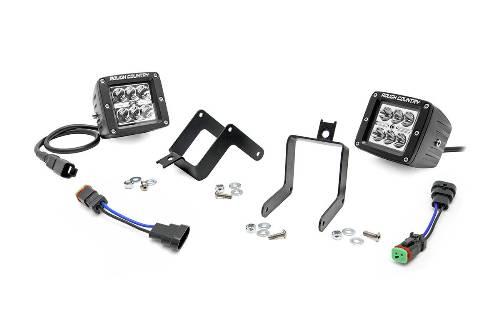 ford f250  f350 super duty 2 u0026quot  cree led fog light kit 2011