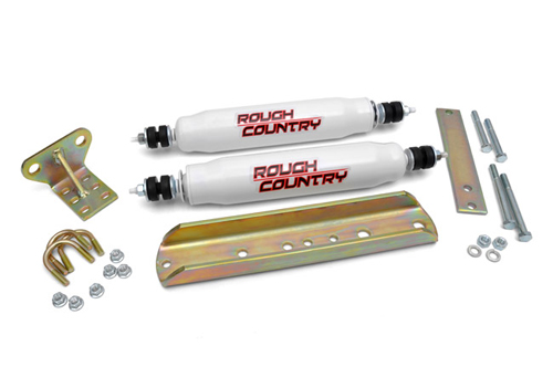 Fat Bob's Garage, Rough Country Part #87338, Big Bore Dual Stabilizer for Ford F-150 Bronco 1980-1996