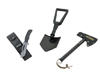 Survival Pack - All Purpose Knife, Foldable Shovel, Trail Axe