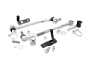 "Jeep Grand Cherokee ZJ 3.5""-6"" Front Quick Disconnects 1993-1998"