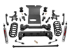 "Fat Bob's Garage, Rough Country Part #770S, Toyota FJ Cruiser 6"" Lift Kit 2007-2009"