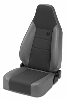 Fat Bob's Garage, Bestop Part #39438, Trailmax II Sport Reclining Front Seat, High Back, Bucket, Drive/Passenger Side