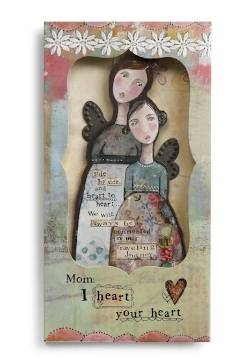 Mother Angel Ornament Card