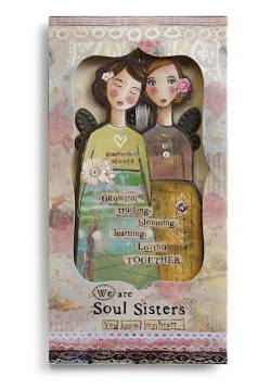 Sister Angel Ornament Card