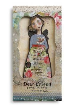 Friend Angel Ornament Card