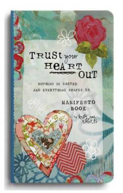 Trust Your Heart Manifesto Magnet Gift Book