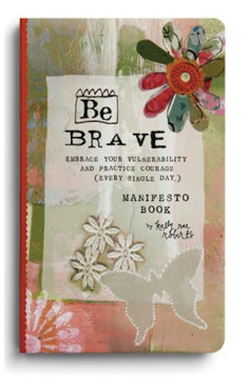 Be Brave Manifesto Magnet Gift Book MAIN
