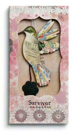 Survivor Ornament Card
