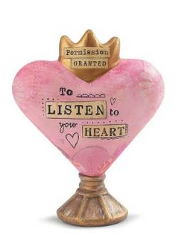 Listen to Your Heart Sculpture