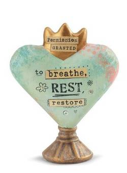Breathe Heart Sculpture