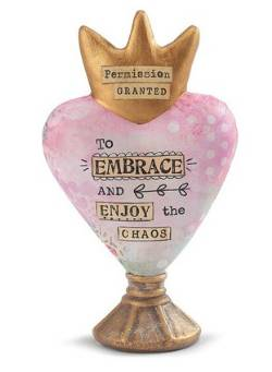 Embrace Heart Sculpture