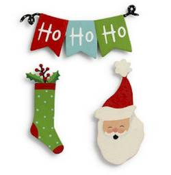 Christmas Banner Magnet Set