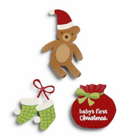 Baby's First Christmas Magnets