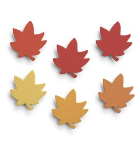 Leaf Ombre Magnet Set