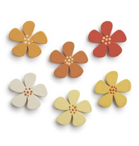 Flower Ombre Magnets