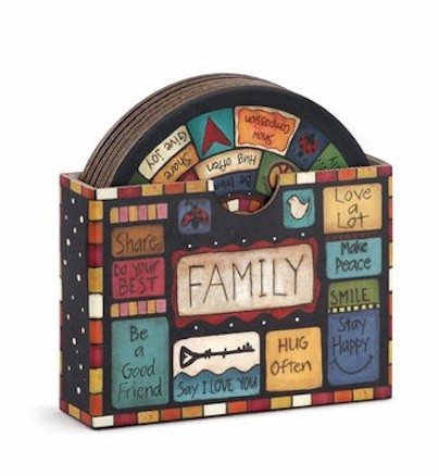 Family Values Coasters LARGE
