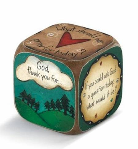 Sweet Table Prayer Conversation Dice LARGE