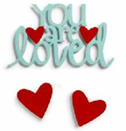 You are Loved Magnet Set