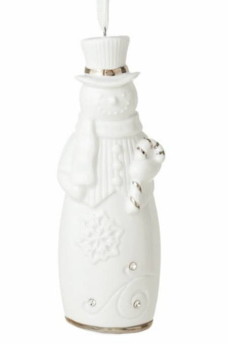 Snowman Bell Keepsake Ornament