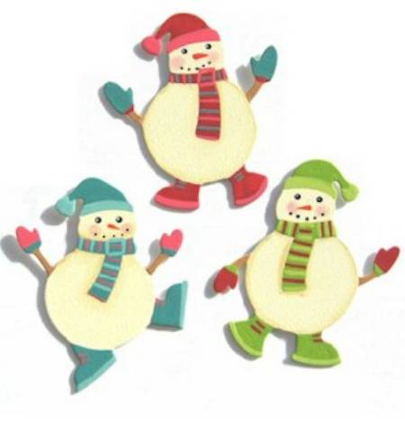 Snowman Friends Magnets_MAIN