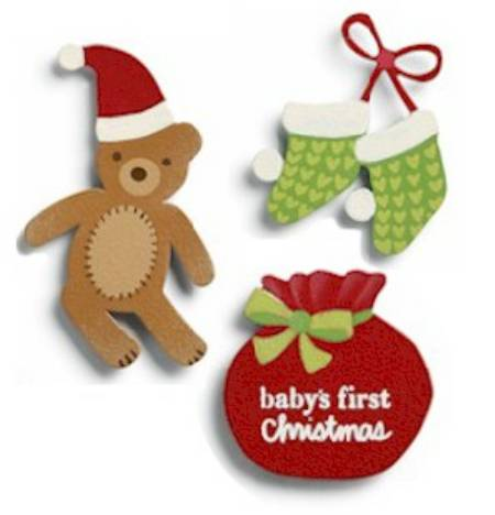 Baby's First Christmas Magnets MAIN