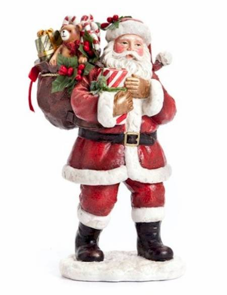 Sack Full of Toys Santa Figure