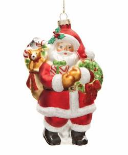 Sack of Toys Santa Ornament